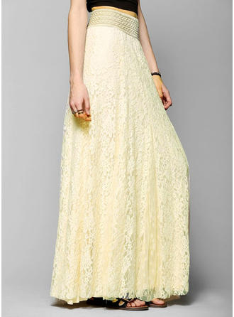 Pizzo Pizzo Maxi gonne a gonna