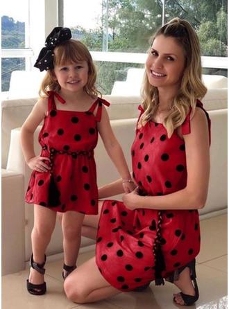 Mamá y yo Lunares a juego Vestidos