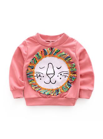 Bébé & Bambin Fille Lion Coton Sweat-Shirt
