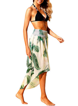 Floral Strapless Bohemian Swimsuits