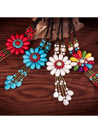 Exotic Turquoise Women's Necklaces