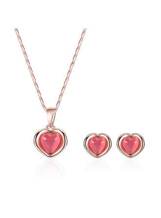 Świecący Stop Opal Dla kobiet Zestawy biżuterii (Zestaw 2)