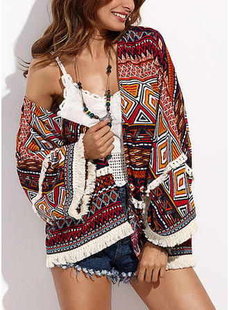 Beautiful Print Cover-ups Swimsuit