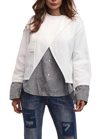 Poliester Patchworkowa Bluza