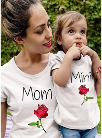 Μπαμπάς και εγώ Επιστολή Τυπώνω Ταίριασμα Μπλουζάκια