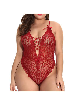 Polyester Lace Teddy