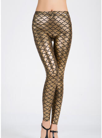 La copie Animale Longue Sexy Longue Maigre Imprimé leggings