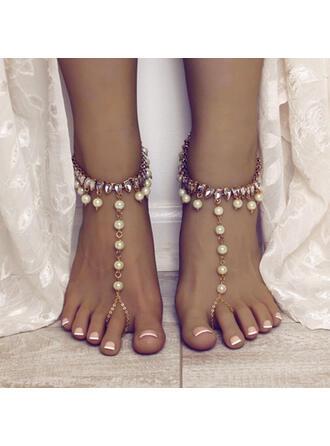 Charming Fancy Alloy Zircon Bracelets