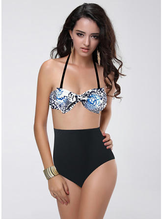 Fashional Leopard Dot Bikini