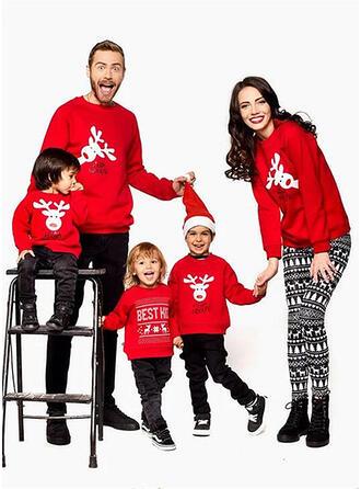 Renne Tenue Familiale Assortie Sweatshirt