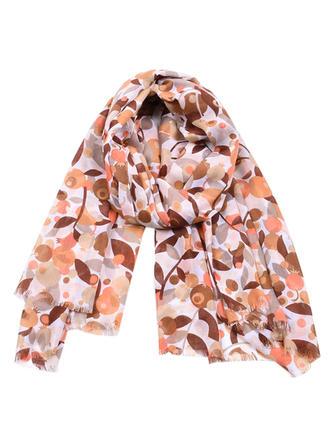 Bloemen ronde Sjaal