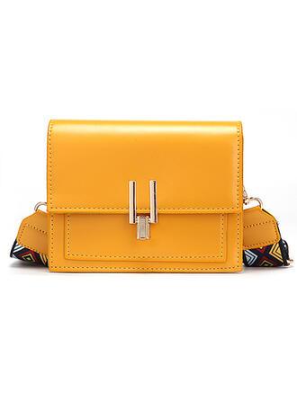 Cute/Vintga/Solid Color/Simple Shoulder Bags