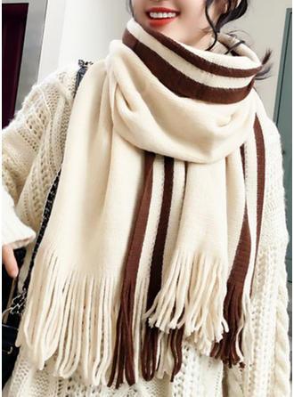 Solid Color Koldt vejr Halstørklæde
