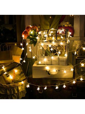 Feliz Navidad Estrella PVC Luces Decoración navideña