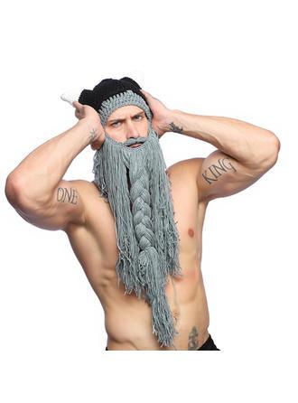 Men's Fashion/Animal Polyester Wig Cap