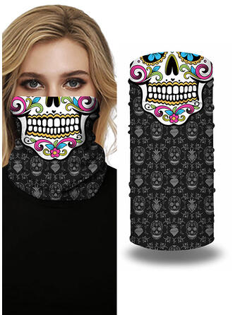Face Masks/Print/Face Bandana/Magic Scarf/Headwrap Balaclava Full Coverage/Multi-functional/Seamless/Dust Proof Bandanas