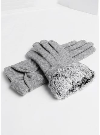 Einfarbig einfache/Kaltes Wetter Handschuhe