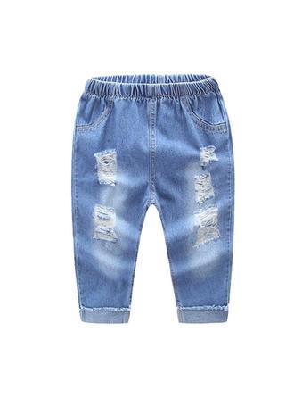 Bébé & Bambins Treillis Coton Jeans