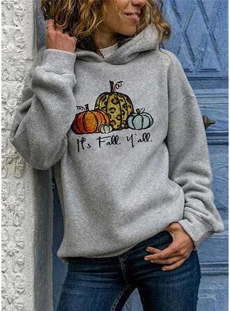 Nyomtatás Halloween Hosszú ujjú Kapucni