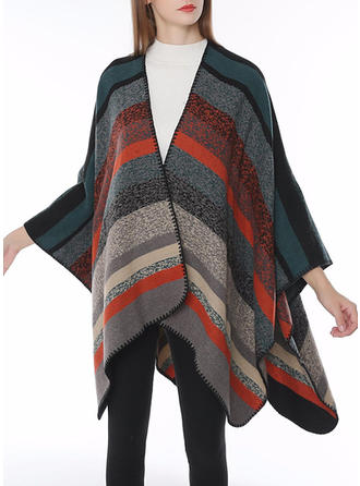 Striped Oversized/Cold weather Wraps