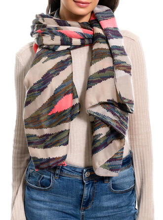Striped Cold weather Scarf