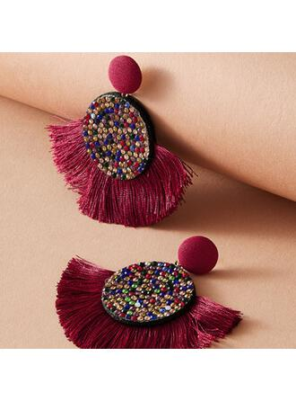 Fashionable Fabric Earrings