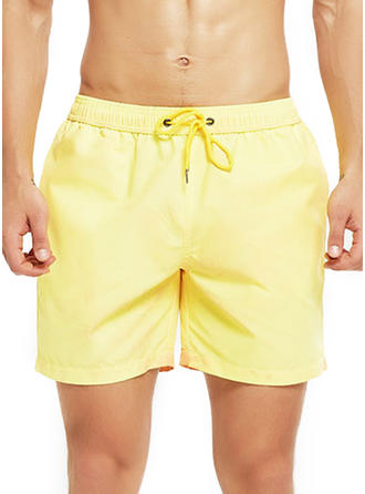 Men's Elastic Waist Board Shorts