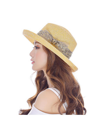 Lovely/Fashion Rattan Straw Beach/Sun Hats