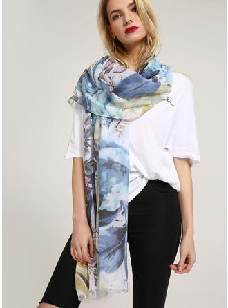 Bloemen lichtgewicht Sjaal