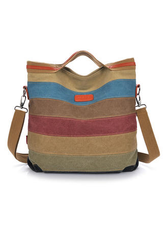 Ek Renk/Çok fonksiyonlu Bez Çantalar/Omuz çantaları/Serseri çantası