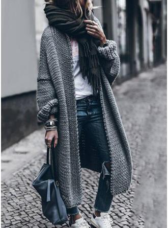 Knit Plain Cardigan