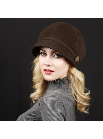 Dames Mode/Spécial Acrylique/de mélanges de laine Béret Chapeau/Casquette de baseball