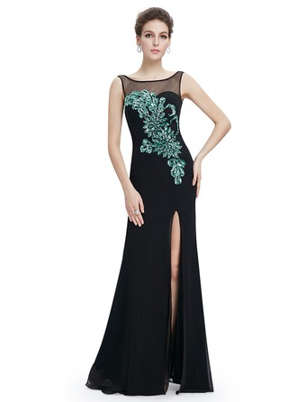 Sleeveless Shift Maxi Little Black Dresses