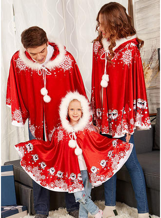 Santa Family Matching Coats