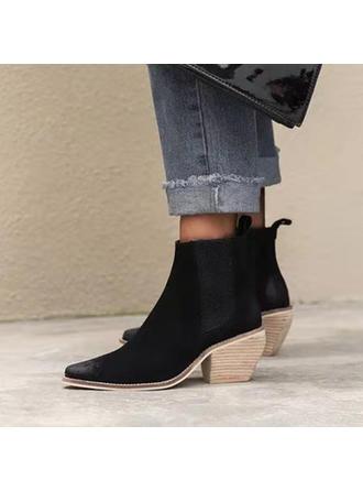Femmes Similicuir Talon bottier Bottines avec Autres chaussures