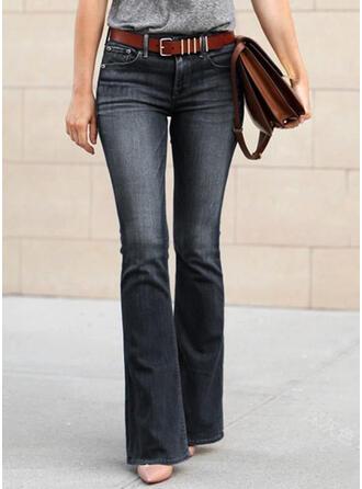 Tamanho grande Grandes Boho Sexy Jeans