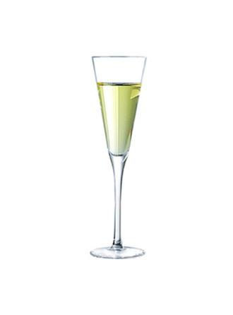 klasszikus üveg pezsgős pohár