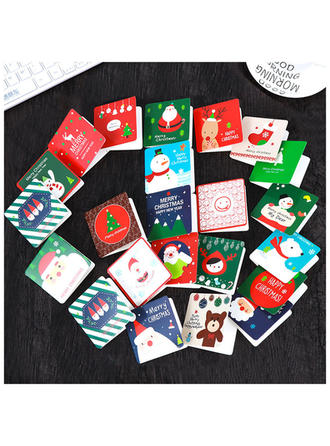 Merry Christmas With Envelope Card Paper Greeting Cards Postcards Invitations (Set of 144)