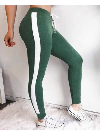 Solid Long Sexy Skinny Solid Leggings