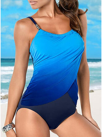 Gradient Strap Sexy Classic One-piece Swimsuits