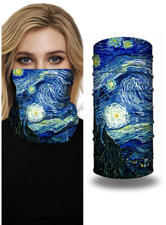 Face Masks/Print/Face Bandana/Magic Scarf/Headwrap Balaclava Protective/Full Coverage/Multi-functional/Seamless/Dust Proof Bandanas