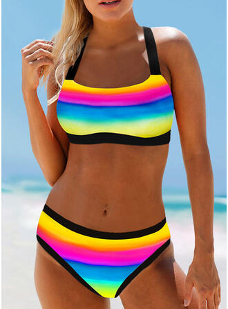 Ekleme rengi Boyundan Bağlamalı Seksi Bikiniler Fürdőruhák