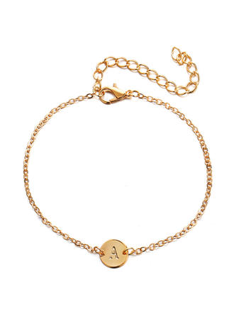Simple Alloy Women's Fashion Bracelets (Sold in a single piece)