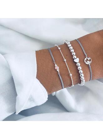 In de mode Koel Legering Armbanden (Set van 4 stuks)
