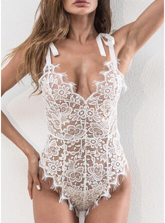 Spandex Lace Teddy