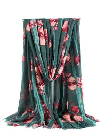 Bloemen/Tassel Nek/lichtgewicht/te groot/Sjaal/aantrekkelijk Sjaal