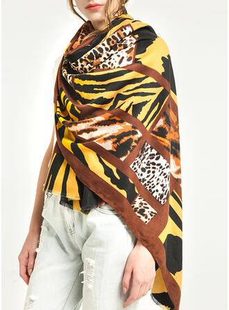 Leopard/Retro/Vintage/Tiger Pattern/Tassel/Stitching Light Weight/Oversized/Shawls/attractive/fashion Scarf