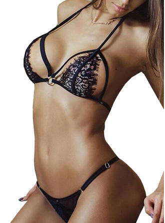 Nylon Lace Lingerie Set