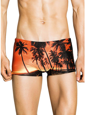 Men's Colorful Briefs Swimsuit