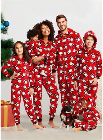 Babbo Famiglia Partita Di Natale Pajamas